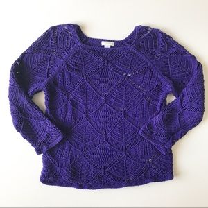 Chico's Top Size 1 - Summer Sweater